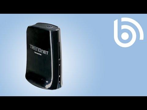 TRENDnet TEW-687GA Wireless-N Gaming Adapter & Ethernet Bridge (450Mbps)