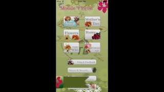 Mobile Florist - Send Flowers! YouTube video