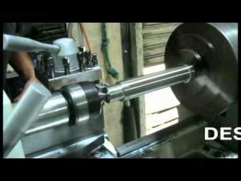 Torno Casero Dtu 4 Wmv Fabricacion Rodamientos Nachi Torno Caseiro 06