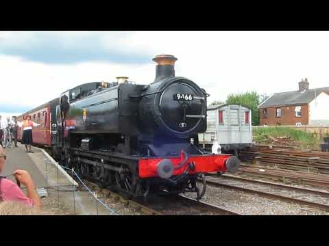 Mid-Norfolk Railway Steam Gala 2017 Part 2: GWR Pannier Tank 9466