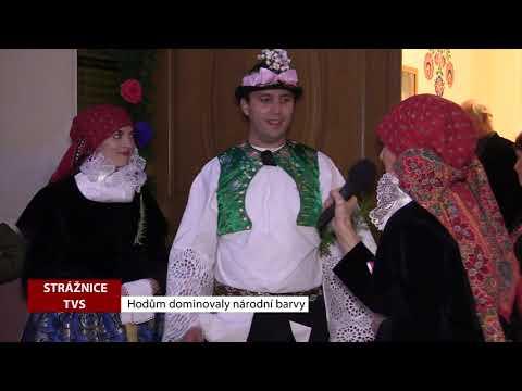 TVS: Strážnice - Hodům dominovaly národní barvy