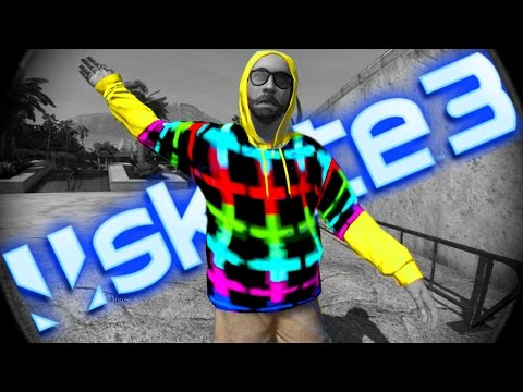 Skate 3 How To GET Rainbow Hoodie Glitch
