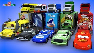 Video Learning Color Disney Pixar Cars Lightning McQueen Transforming magic Tunnel Play for kids car toys MP3, 3GP, MP4, WEBM, AVI, FLV Mei 2019