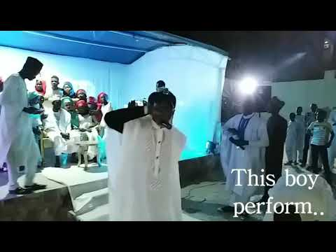 This boy live performance in gidan biki with Mazane 2018