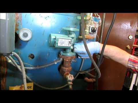 how to bleed a two zone boiler