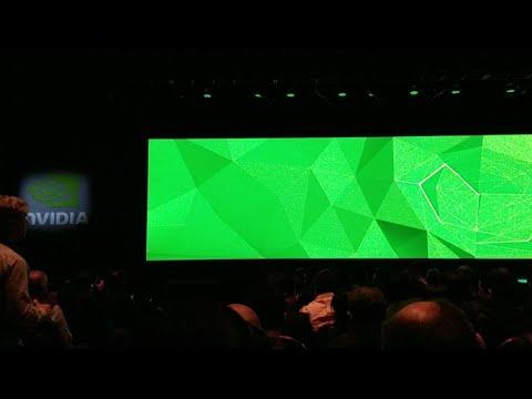 Nvidia Press Conference CES 2018 (видео)