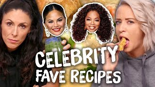 Trying the Best Celebrity Recipes - Taylor Swift, Chrissy Teigen, Oprah by Clevver Style