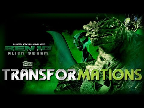 Ben 10: Alien Swarm - Transformations