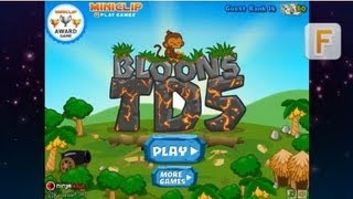 Видеообзор Bloons Tower Defense 5 (BTD 5)