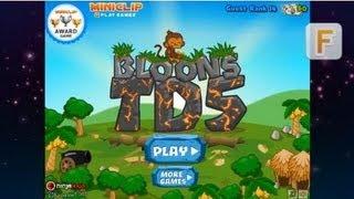 Видеообзор Bloons Tower Defense 5 (BTD 5)
