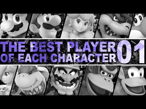 The Best Player Of Each Character In Smash 4 - Part 1 - ZeRo
