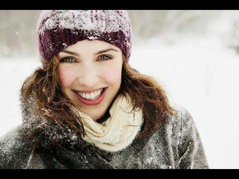 Ежедневная женская одежда на снежную зимнюю погоду