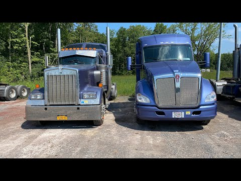 Kenworth W900L vs  Kenworth T680 vs fuel efficiency