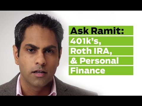 Ask Ramit: 401k's, Roth IRA, & the Ladder of Personal Finance