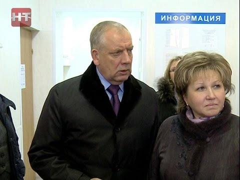 Сергей Митин и Елена Писарева посетили ряд новгородских расчетно-кассовых центров