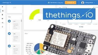 ESP8266 NodeMCU & Thethings.io MQTT #simpLINnovation