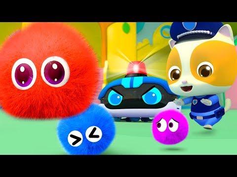 Mèo con Mimi và robot hút bụi   Bài hát robot   Cuộc chiến vi khuẩn   Nhạc thiếu nhi hay   BabyBus