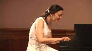 """Liszt in Italy"" piano Concert performed by Karine Poghosyan at Columbia University"