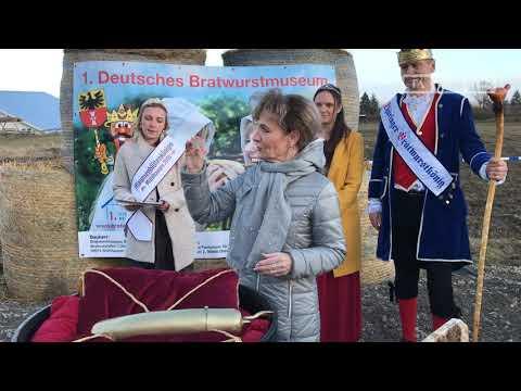 Grundsteinlegung im neuen Bratwurstmuseum in Mühlhause ...