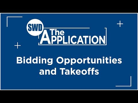 The Application: Bidding Opportunities and Takeoffs w/Marcus DeVere