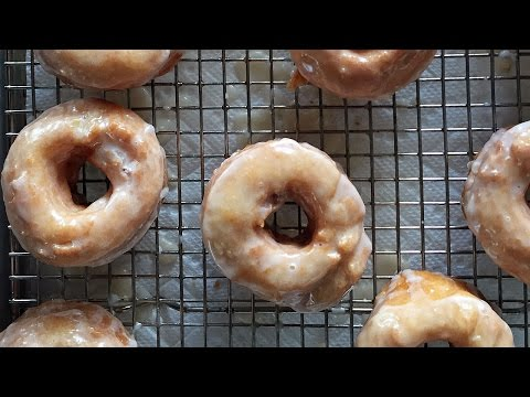 Alton Brown Shows How to Make His Unique Glazed  Bonuts Donuts Made From a Biscuit