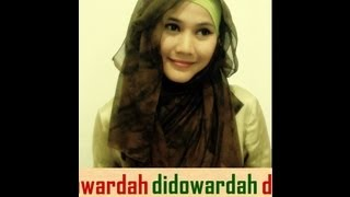 Tutorial Hijab Modern Paris By Didowardah