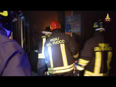 Incendio al Mercato Centrale- video