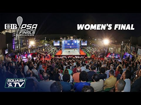 Squash: El Welily v Serme - CIB PSA World Tour Finals 2018/19 - Final Roundup