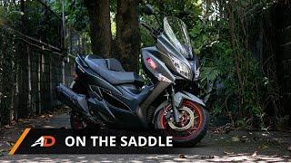 6. Suzuki Burgman 400 - On the Saddle