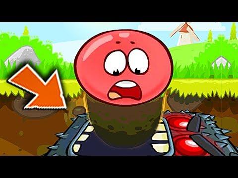 ОГО КАКОЙ БОСС !!! КРАСНЫЙ ШАР НАПАЛ НА ЗОМБИ Несносный Шарик Plants vs zombies Red Ball 4 Мультик (видео)