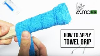Video How to: Wrap a Badminton Racket with Towel Grip - YumoTube MP3, 3GP, MP4, WEBM, AVI, FLV September 2018