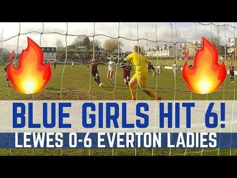 Video: LADIES HIGHLIGHTS: LEWES 0-6 EVERTON