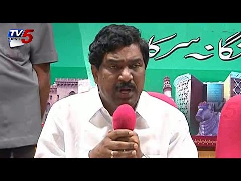 Dpy CM Rajaiah Press Meet Over Farmers Problems : TV5 News