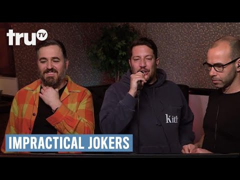 Impractical Jokers - From Coat Check To Runway Model (punishment) | Trutv