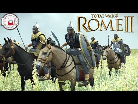 Masaesyli Vs Kush - Total War Rome 2 Online Battle Video 402