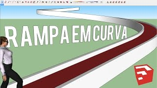 Video Rampa em Curva no Sketchup: Plugin Shape Bender MP3, 3GP, MP4, WEBM, AVI, FLV Desember 2017