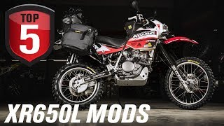 5. Top 5 Honda XR650L Mods