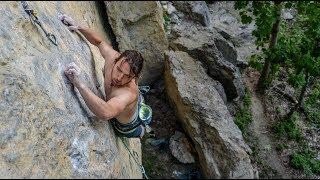 Projecting My First 8a Climb - Vlog 107 by Matt Groom