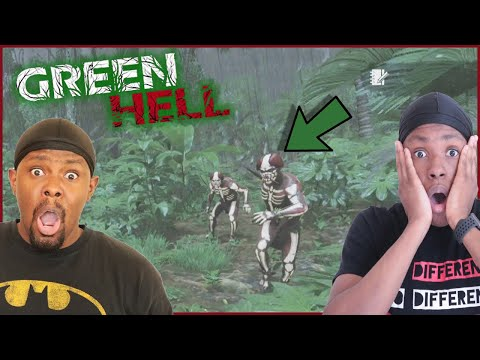 Crazy Tribal Goons Tried To Take Our Camp! (Green Hell Ep.11)