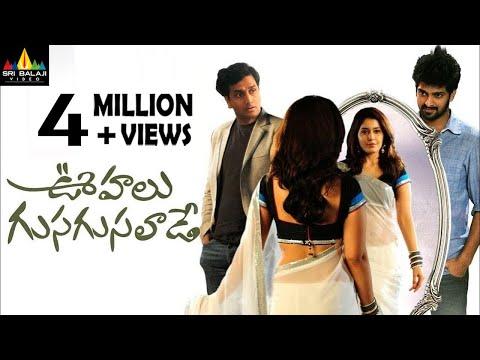 Oohalu Gusagusalade Telugu Full Movie   Naga Shourya, Rashi Khanna   Sri Balaji Video