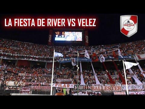 RIVER Y UNA FIESTA MONUMENTAL / River Plate vs Velez - Torneo 2016/17 - Los Borrachos del Tablón - River Plate