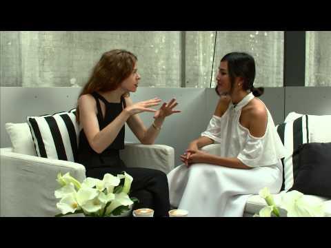 BIANCA SPENDER INTERVIEW WITH NICOLE WARNE: MERCEDES-BENZ FASHION … видео