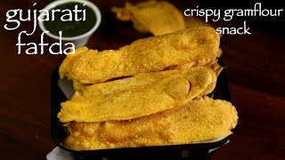 full recipe: http://hebbarskitchen.com/fafda-gathiya-gujarati-fafda-recipe/download android app: https://play.google.com/store/apps/details?id=com.hebbarskitchen.android&hl=endownload iOS app: https://itunes.apple.com/us/app/id1176001245Email – hebbars.kitchen@gmail.comWebsite – http://hebbarskitchen.com/Facebook – https://www.facebook.com/HebbarsKitchenTwitter – https://twitter.com/HebbarsKitchenPinterest – https://www.pinterest.com/hebbarskitchen/plus one – https://plus.google.com/103607661742528324418/postslinkedin - https://in.linkedin.com/in/hebbars-kitchen-b80a8010ainstagram - https://www.instagram.com/hebbars.kitchen/tumblr - http://hebbarskitchen.tumblr.com/twitter - https://twitter.com/HebbarsKitchenmusic by ocean by THBD https://soundcloud.com/thbdsultancreative commons — attribution 3.0 unported— CC BY 3.0fafda recipe  fafda gathiya recipe  how to make gujarati fafda with detailed photo and video recipe. basically a deep fried crispy snack which is typically enjoyed with jalebi and mainly served for breakfast or for evening snack. like any other gujarati snack even this delicious tea time snack is prepared from chickpea flour or besan flour.fafda recipe  fafda gathiya recipe  how to make gujarati fafda with step by step photo and video recipe. snack or farsan is very important part of gujarati cuisine or gujarati snacks. farsan is a broad category of snacks specifically prepared from besan in which fafda recipe is highly popular. more commonly the snacks are prepared on special occasions or festivals specifically to please the guests, and also enjoyed as evening time snack with tea.