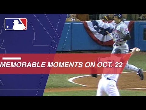 Video: MLB's notable moments from October 22