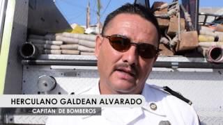 CONMEMORAN BOMBEROS DE ROSARITO DÍA NACIONAL RECORDANDO A COMPAÑEROS CAÍDOS
