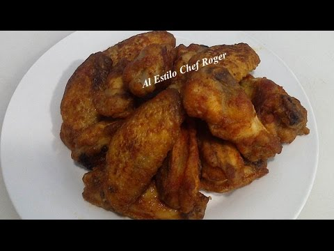 alitas de pollo buffalo wings, Receta # 345, ALITAS BUFFALO