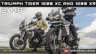 10. 2018 TRIUMPH TIGER 800 XC AND 2018 TRIUMPH TIGER 800 XR Review Rendered Price Specs Release Date