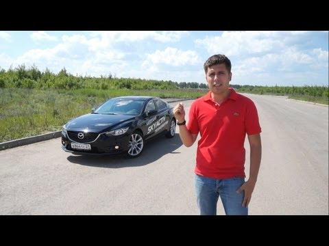 Mazda 6 Тест-драйв.Anton Avtoman. (видео)