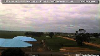 30 July 2014 - East Facing WeatherCam Timelapse - KanivaWeather.com