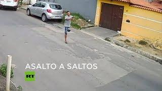Ladrón sin una pierna integraba banda delincuencial en Brasil